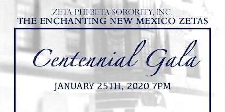 NM Zetas Centennial Gala tickets