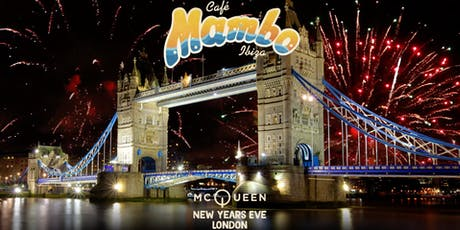 Cafe Mambo Ibiza New Year's Eve London tickets