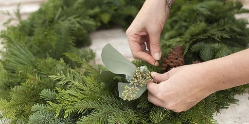 Wreath Making Workshop: Holiday Wreath & Decorative Swag