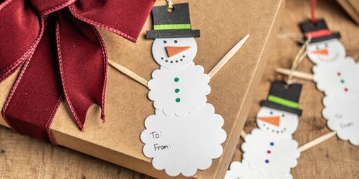 Just for Kids: Printed Gift Tags (Gainesville)
