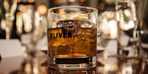 Sazerac Bourbon Dinner at Oliver Royale
