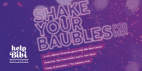 Shake your baubles for Bibi! tickets