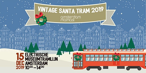 Vintage Santa Tram 2019