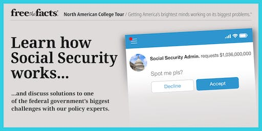 Free the Facts @ Patrick Henry College: Learn About Social Security
