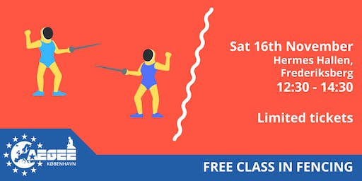 Free Class in Fencing AEGEE-København