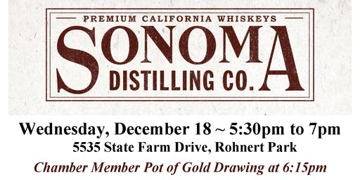 After Hours Holiday Networking Mixer Hosted by Sonoma Distilling Company