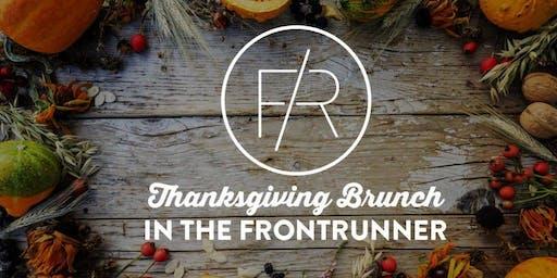 Thanksgiving Brunch in the FrontRunner