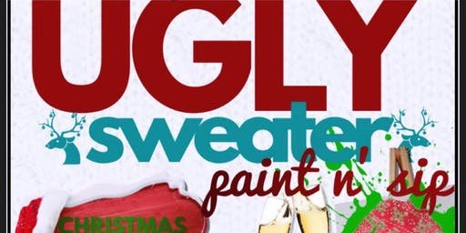 Ugly Sweater Mommy & Me Sip & Paint
