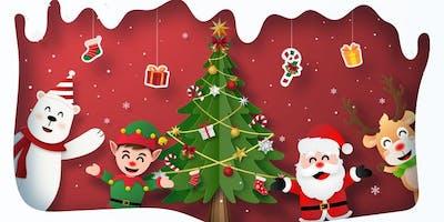 Single Mom Strong's Holiday Celebration and Santa Visit!
