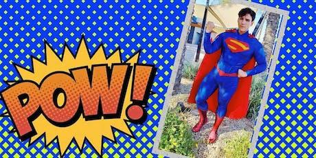 Super Hero Social tickets