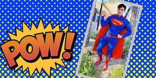 Super Hero Social