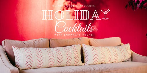 Pillow Talk: Holiday Cocktails
