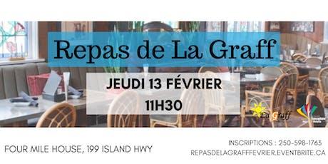 Repas de La Graff tickets