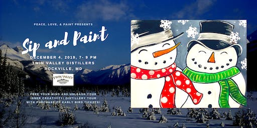 Paint Night at Twin Valley Distillers