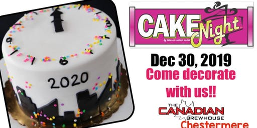 CakeNight -New Years Cake - Chestermere