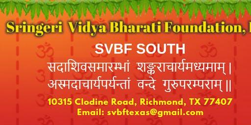 SVBF South - Bhaje Sharadam 2019