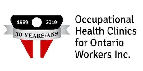 OHCOW 30th Anniversary Toronto Health & Safety Info Fair tickets