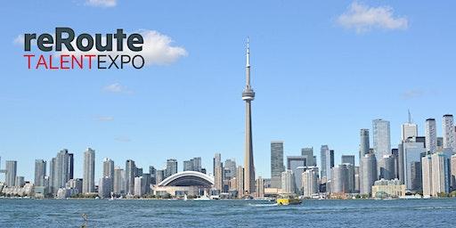 reRoute Talent Expo Toronto
