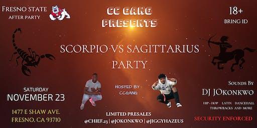 CC Gang Presents - Scorpio Vs Sagittarius