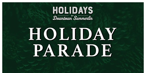 Downtown Summerlin's Holiday Parade