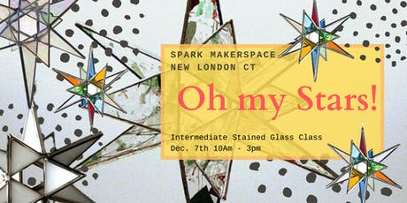 """Intermediate Stained Glass: """"Oh My Stars!"""" tickets"""