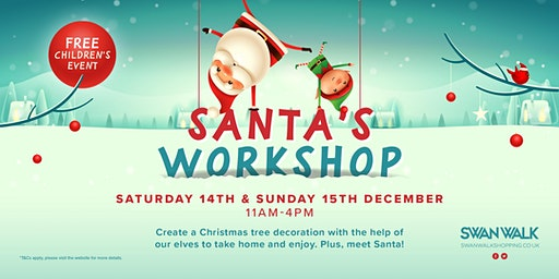 Santa's Workshop at Swan Walk, Horsham