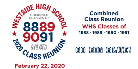 Westside High School Reunion Classes of 88-91 tickets