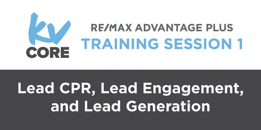 kvCORE Training 1: Lead CPR, Lead Engagement, and Lead Generation