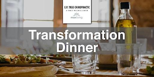 Transformation Dinner with Dr. Kevin Miller & Dr. Christopher Reil -- February 2020