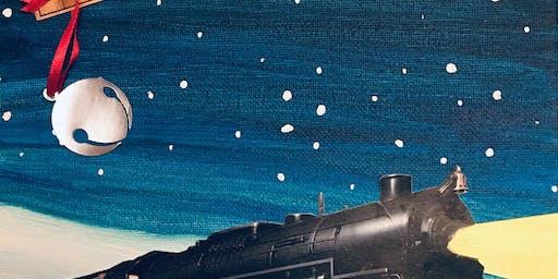 Arctic Train Paint Party- Mixed Media w/Kelly