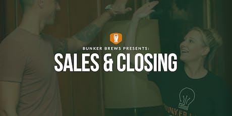 Bunker Labs Denver: Sales & Closing tickets