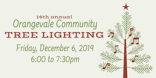 Orangevale Community Tree Lighting