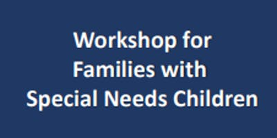 Special Needs Family Workshop