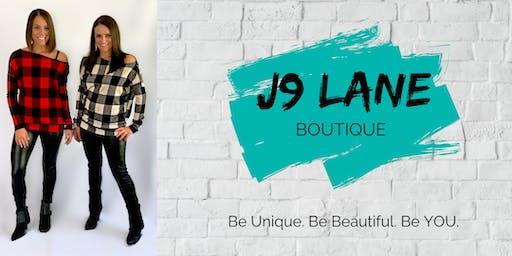 J9 Lane Boutique Pop-up Shop (Raffles, Door Prizes & Charity Donations)
