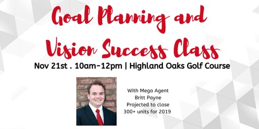 Goal Planning and Vision Success Class