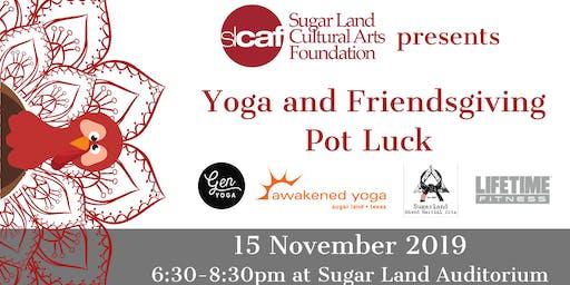 Yoga and Friendsgiving Pot Luck
