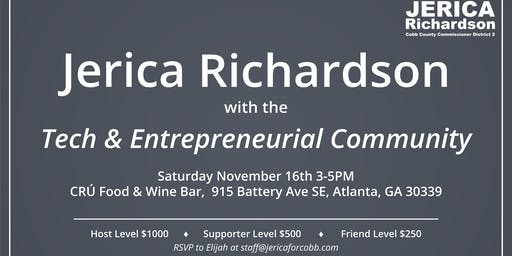 Fundraiser for Jerica Richardson with the Tech & Entrepreneurial Community
