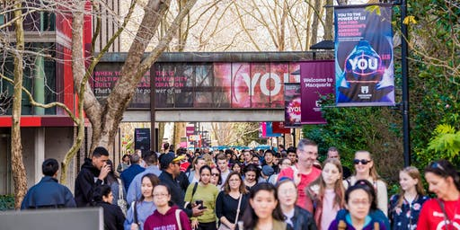 Macquarie University's 2019 Explore Your Options Week (consultations)