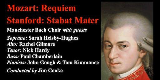 Mozart: Requiem Stanford: Stabat Mater  - Manchester Bach Choir