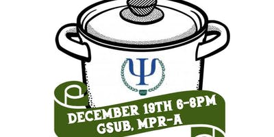 NJCU's PSI CHI and Psychology Club's Holiday Potluck