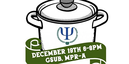 NJCU's PSI CHI and Psychology Club's Holiday Potlu