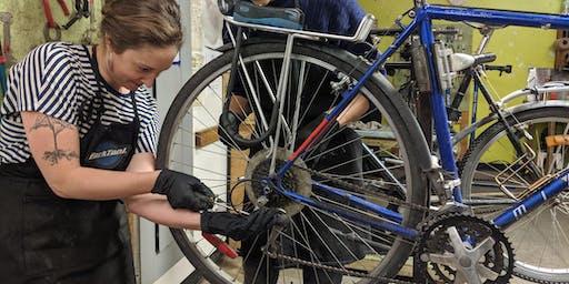 Construction et préparation d'un vélo d'hiver / Preparing a winter bike