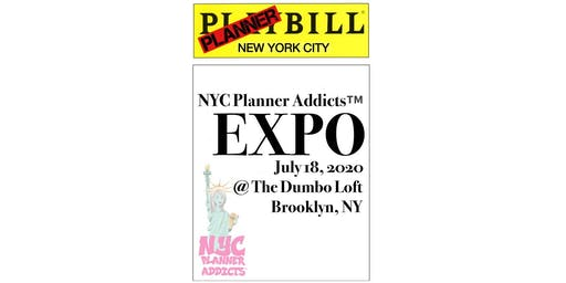NYC Planner Addicts Expo - Presale