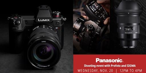 Panasonic + Profoto Shooting Experience