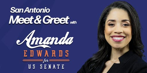San Antonio Meet & Greet with Amanda Edwards for U.S. Senate
