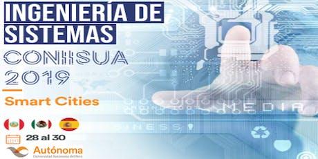 Congreso Internacional de Ingeniería de Sistemas - CONIISUA 2019, 28-30-NOV entradas