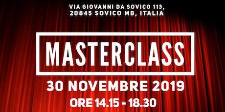 MasterClass biglietti