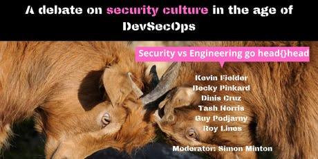London Debate!! Security culture in the age of DevSecOps tickets