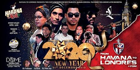 New Years Eve Concert - HABANA CON KOLA feat. Latin Orchestra tickets