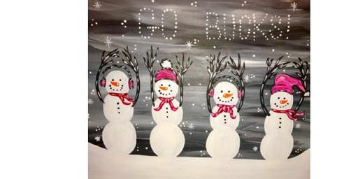 Brownie's Tavern - Snowmen - Paint Party